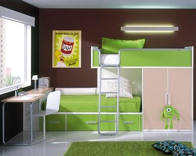 Camas literas camas altas la envidia en muebles - Armarios con cama incorporada ...
